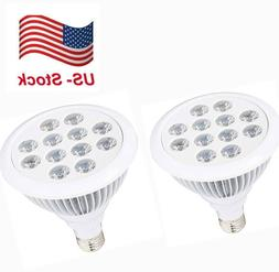 2PCS 12W LED Plant Grow Light for Hydroponic Garden Indoor G