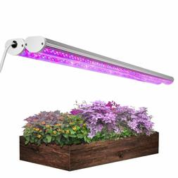 2Pcs Pack Led Grow Light With Timer, Lightimetunnel 150W Ful