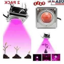 2x 1000W Watt COB LED Grow Light Full Spectrum Lamp For Hydr