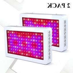 2X 600W 120 LEDs plant light Grow Light ColoFocus Full Spect