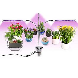 Belle 3 Head LED Plant Grow Light,5 Dimmable Levels,27W Grow