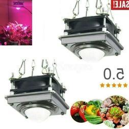 3000W COB LED Grow Light Full Spectrum Lamp Cooling Fan For