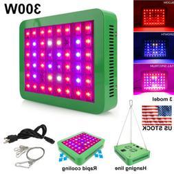 300W LED Grow Light Bulbs Panel Full Spectrum Veg & Bloom Tw