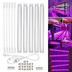 Qjoy 30cm/11.81in Full Spectrum LED Grow Light Indoor Garden