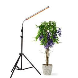 30W Floor Stand Grow Light, LED Floor Lamp with Flexible Goo
