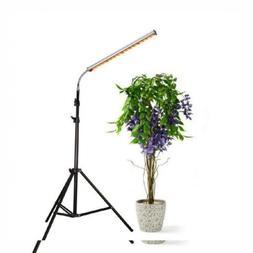 30W Floor Stand Grow Light, LED Lamp with Flexible Gooseneck