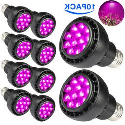 36W LED Grow Light Bulbs E27 Full Spectrum Aquarium Hydropon