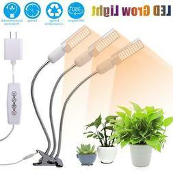 3Head 44 LED Plant Grow Light Lamp Bulb Indoor Full Spectrum