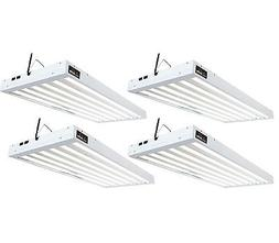 Agrobrite T5 324W 4' 6-Tube Grow Light Fixtures w/Fluoresce
