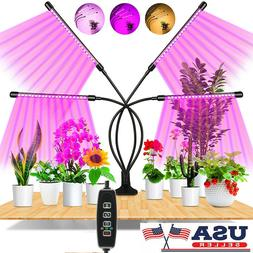 4 Heads Grow Light Plant Growing Lamp for Indoor Plants Hydr
