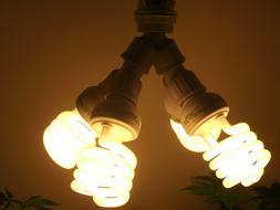 400 WATT CFL GROW LIGHT KIT/ SET- FOR BLOOM- NO CORD