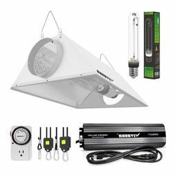 VIVOSUN 400w 600w 1000w Watt Grow Light Kit Ballast HPS Bulb