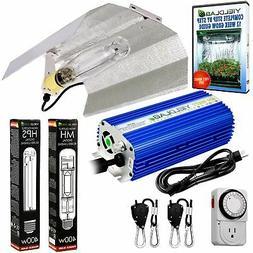Yield Lab 400w HPS MH Wing Reflector Grow Light kit - Free W