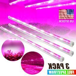 3ft 45W T8 Tubes 448pcs LEDs Full Spectrum LED Grow Light Ba