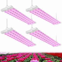 4FT LED Grow Light 80W  Full Spectrum Integrated Growing Lam