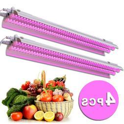 4Pcs 100W LED Grow Light Tube Strip Full Spectrum Lamp for I