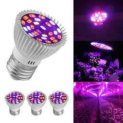4Pcs 28W LED Grow Light E27 Lamp Bulb for Garden Plant Hydro
