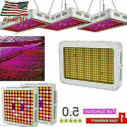 5000W LED Grow Light Full Spectrum Grow Lamp Greenhouse Indo