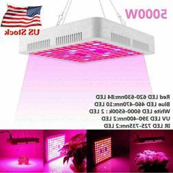 5000W LED Grow Light Full Spectrum Hydroponic Indoor Plant F