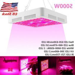 5000W LED Grow Lights Full Spectrum For All Indoor Plants Ve