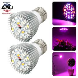 50W E27 Full Spectrum LED Grow Light Bulb Lamp For Hydroponi