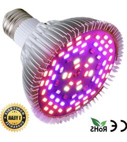 50W Led Grow Light Bulb, Led Plant Bulb Full Spectrum Grow I