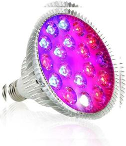 50W LED Plant Grow Light Bulb, EnerEco for Indoor with 500Le