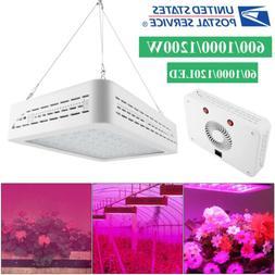 600-1200W LED Grow Light Hydro Full Spectrum Veg Indoor Plan