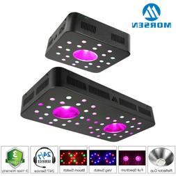 Morsen 600W/1200W LED Grow Light Full Spectrum Indoor Hydrop