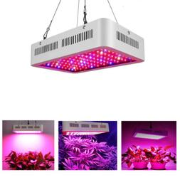 600W 1200W  Watt LED Grow Light Lamp Plants Flower Oganic Gr