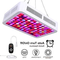 600W Dimmable LED Grow Light, LIGHTIMETUNNEL Full Spectrum G
