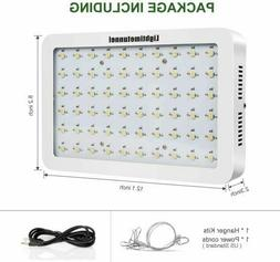 600W Full Spectrum 60 Led Grow Light 3500K Plant Lamp Indoor