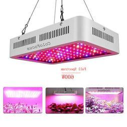 600W LED Grow Light Full Spectrum LED Lamp for Indoor Home G