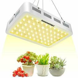 600W LED Grow Light, Lightimetunnel 3500K Plant Light Bulbs