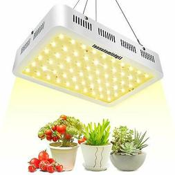Lightimetunnel 600W LED Grow Lights 3500K Full Spectrum 380n