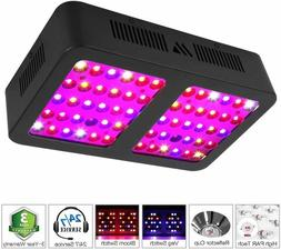 Morsen 600w Reflector Led Grow Light Full Spectrum 2-Switch