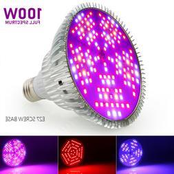 60W E27 LED Grow Light Bulb Lamp Indoor Garden Hydroponic Pl