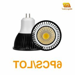 6PCS LED Bulb Full Spectrum Spotlight GU10 MR16 E27 E14 Day