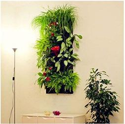 7 Pocket Vertical Wall Garden Hanging Planter Eco-friendly R