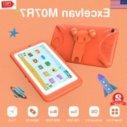 "7"" Quad Core Android 6.0 Tablet PC WiFi 1GB+8GB Dual Camera"