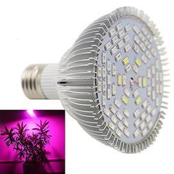 50W 78 LED Plant Grow Light,Kicpot E27 Full Spectrum New Pla