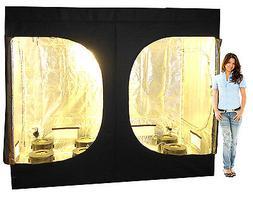 "8 Site Hydroponic System Grow Tent - HPS Grow Light, 6"" Net"
