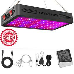 900W LED Plant Grow Light,with Thermometer Humidity Monitor