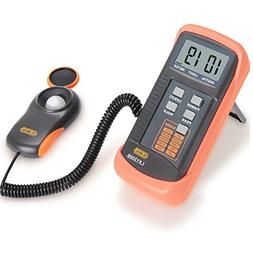 Dr.Meter LX1330B Digital Illuminance/Light Meter, 0 - 200,00
