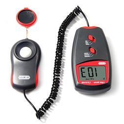Dr.meter LX1010B Digital Illuminance/Light Meter, 0-100,000