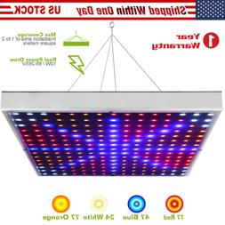 GROW LIGHT 225 LED Indoor Plants Growing UV IR Lamp Greenhou