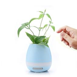Music Flower Pots Smart Bluetooth Speaker Plants Pot Planter