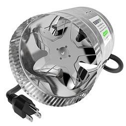 VIVOSUN 6 inch Inline Duct Booster Fan 240 CFM, Low Noise &