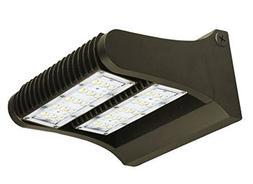 80 Watt LED Adjustable Wall Pack by Ciata Lighting DLC Premi