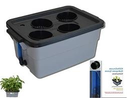 Basic DWC Hydroponic Plant Growing kit # 3-4 by H2OtoGro